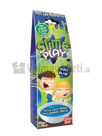 e779ed21e Modrý mini sliz do vody Slime Baff v obchode Vnímavé deti
