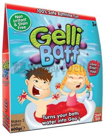 af8f76995 Červený maxi gél do kúpeľa Gelli Baff v obchode Vnímavé deti