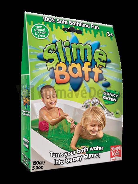 dbcd3b339 Zelený sliz do kúpeľa Slime Baff